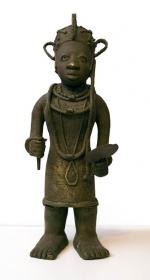Benin bronze (Female - front view)