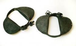 Slave ankles manacles