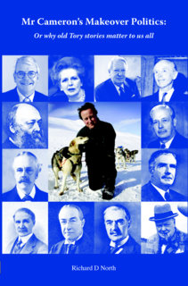 "Cover of RDN's book ""Mr Cameron's Makeover Politics"""