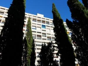 Corbusier's Cite Radieuse in Marseille